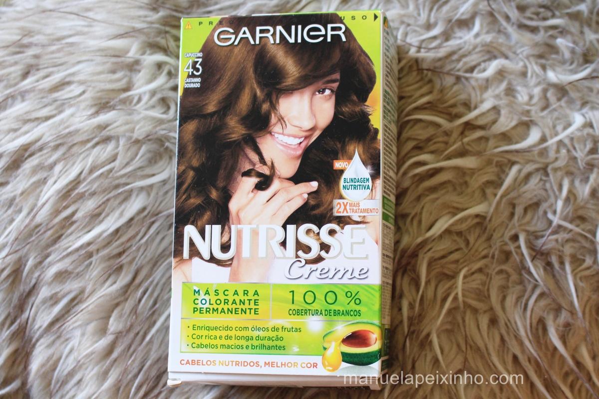 Pintando o cabelo em casa com Nutrisse Creme - Garnier