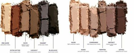 Urban Decay Naked Ultimate - paleta nova - cores comprar